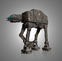 Old AT-AT. A Design, and 3D project by kid_A - Oct 22 2010 10:17 AM