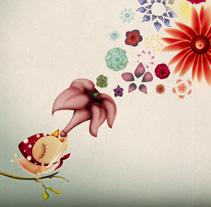 VIAJE AL CORAZÓN DEL ÁRBOL. A Illustration project by Cristina Quiles - 28-10-2010