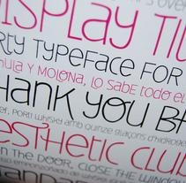 Deibi Free font. Un proyecto de Diseño, Ilustración, Desarrollo de software e Informática de Wete  - Jueves, 11 de noviembre de 2010 20:10:57 +0100