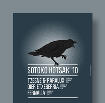 Sotoko Hotsak '10. A Illustration, and Graphic Design project by La caja de tipos  - 08-11-2010