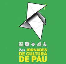 2es Jornades de Cultura de Pau. Um projeto de Design de lluís bertrans bufí         - 25.11.2010