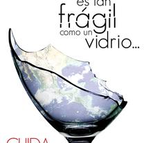 Cartel Cuida Tú Planeta. A Design, Illustration, and Advertising project by C. Germán González         - 04.12.2010