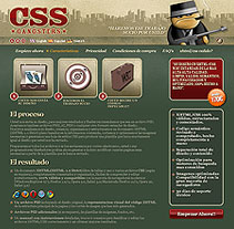CSS Gangsters. A Design, Illustration, Advertising, Software Development&IT project by César Candela - 30-12-2010