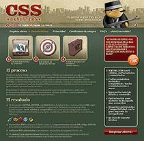 CSS Gangsters. Un proyecto de Diseño, Ilustración, Publicidad, Desarrollo de software e Informática de César Candela - Viernes, 31 de diciembre de 2010 00:08:25 +0100