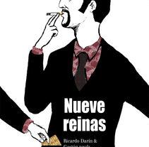 Película Nueve Reinas. Un proyecto de Diseño, Ilustración y Publicidad de Francisco Javier Gómez López - 13-01-2011