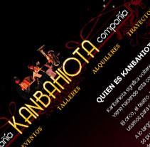 Kanbahiota. Um projeto de Design, Ilustração, Instalações, Desenvolvimento de software e Informática de miodesign  - 26-01-2011