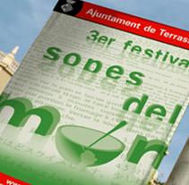 Festival sopes del món. Un proyecto de  de Àngel Marginet         - 05.02.2011