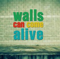 Promo decoyourwall.com 2011. Un proyecto de Publicidad, Motion Graphics, Cine, vídeo, televisión y UI / UX de Christian Gómez Villafán - 15-02-2011