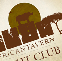 Nuba * African Tavern. A Design, and Motion Graphics project by COBA - 07-03-2011