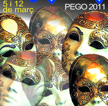 Cartel Carnaval Pego. A Illustration project by Fernando Ricardo Flores Gómez - 19-03-2011