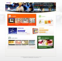 Site Apia Punto de Venta. Um projeto de Design de Laure Chassaing - 10-03-2011