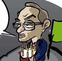 Caricatura Política. Un proyecto de Ilustración de José Rivera         - 12.04.2011