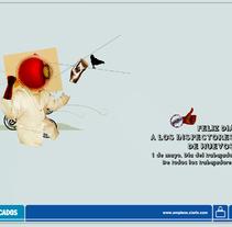 Día del Trabajador. Un proyecto de Diseño y Publicidad de Alfredo Lopez Martinez         - 17.04.2011