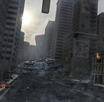 Ciudad. Un proyecto de Diseño, Ilustración y 3D de Antonio Capa Pena - 20-04-2011