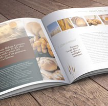 Brochure Louis Baking. A Art Direction, Design Management, and Graphic Design project by le  dezign - 20-06-2011