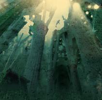 Un día de lluvia en Barcelona - Sagrada Familia.. A Design&Illustration project by 3643id          - 01.05.2011