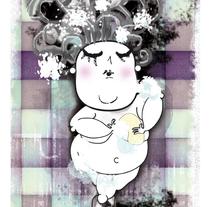 La hora del baño. Un proyecto de Ilustración de Paula Araújo Losas - Martes, 03 de mayo de 2011 11:41:41 +0200