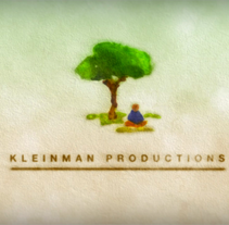Kleinman productions animación de logo.. A Design, Illustration, Music, Audio, Motion Graphics, Film, Video, and TV project by Tal Gliks - 03-05-2011
