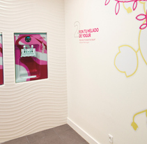 LIKK Helado de yogurt. Um projeto de Design e Instalações de Kata Zubieta         - 11.05.2011