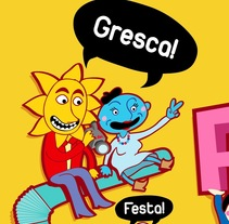 cartel Festa Major de Gràcia - Bcn. A Design&Illustration project by Sandra Maya  - 13-05-2011