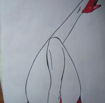 tinta. Un proyecto de Diseño e Ilustración de Rocio Ceron Dominguez         - 16.05.2011