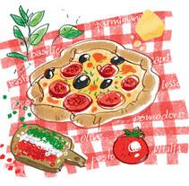 AD Especial Cocinas. A Illustration project by Alya Markova - 05.23.2011
