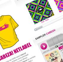 Cabeza! Netlabel. A Software Development project by Germán de Souza  - May 29 2011 09:16 PM