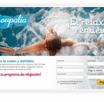 Groupalia Landing Spa. A Design, and Software Development project by Eztizen Angulo          - 04.07.2011