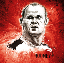 Wayne Rooney Free Work. A Illustration project by Xavier Gironès - Jul 05 2011 08:38 PM