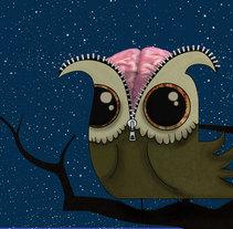 Buho. Un proyecto de Ilustración de Soraya Kraft         - 06.07.2011