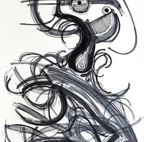 HAIR. Um projeto de Ilustração de Alexandre Agustí Matas         - 12.07.2011
