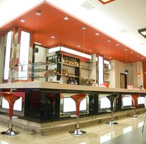 Diseño cafetería. Um projeto de Design e Instalações de Marcos Silva         - 12.07.2011