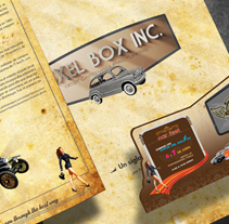 Pixel Box Inc. - Historia de los autos. A Design project by Fernando Carvantes         - 13.07.2011