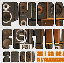 Phonofestival 2010. Un proyecto de Diseño y Publicidad de Miguel de Llobet         - 19.07.2011
