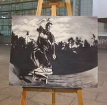 serie skaters. Um projeto de Ilustração de enrique granados de foronda         - 19.07.2011