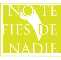 No te fies de Nadie. A Illustration project by Xavier Domènech - Jul 26 2011 12:33 PM