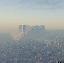 Paisajes urbanos generados proceduralmente. Um projeto de Ilustração e 3D de Joan Picó Planas         - 05.08.2011