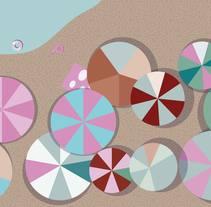 Vamos a la playa. Un proyecto de Ilustración de adriana carcelen         - 19.08.2011