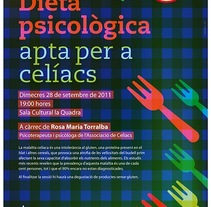 Cartell celiacs. A Design project by Cesc Cruzate         - 01.09.2011