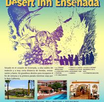Semana Santa Desert Inn. Un proyecto de Ilustración y Publicidad de Adrián Castrejón         - 02.09.2011