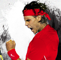 Rafa Nadal. A Design, Advertising, and UI / UX project by Bloomdesign          - 06.09.2011