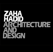Folleto Zaha Hadid. A Design, Advertising, Installations, Photograph, and UI / UX project by Esperanza Cáceres         - 16.09.2011