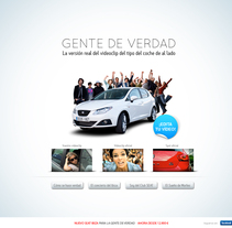 SEAT - GENTE DE VERDAD. A Design, and Advertising project by Pablo Mateo Lobo - 22-09-2011