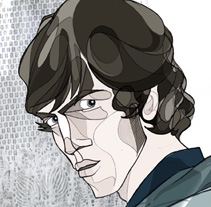 """Richard Ashcroft"". A Design, Illustration, and Advertising project by Javier Jubera García - 13-10-2011"