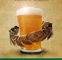 Carpe_Beer_grafica. Um projeto de  de Carlos Madrigal Prieto         - 18.10.2011