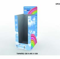Expositor Rainbow. Um projeto de Design de Mar Pino         - 14.02.2012