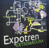 Expotren Marca Extremadura. A Design, Illustration, Motion Graphics, Installations, Film, Video, and TV project by Nacho N Rufo - 24-10-2011