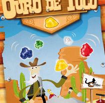 Ouro de Tolo (Juego de mesa). A Design&Illustration project by dramaplastika - 26-10-2011