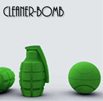 Cleaner-Bomb. A Design, UI / UX, and 3D project by Guillermo Ronda Arán - 26-10-2011