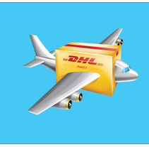 DHL Illustrations. A Illustration, and Advertising project by J. Jesus  Fernández         - 15.11.2011